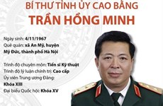 Tiểu sử hoạt động của Bí thư Tỉnh ủy Cao Bằng Trần Hồng Minh