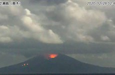 Nhật Bản cảnh báo sau khi núi lửa Otake phun trào