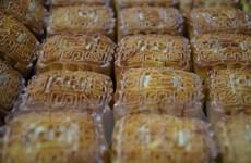 """Cửa hàng bánh Trung Thu tại TP.HCM nắm bắt cơ hội """"bán mang về"""""""