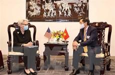Bộ trưởng Ngoại giao Bùi Thanh Sơn tiếp xúc song phương tại Hoa Kỳ