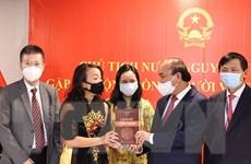 Chủ tịch nước gặp gỡ Cộng đồng người Việt Nam ở Hoa Kỳ