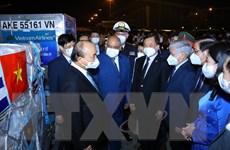 Chủ tịch nước dự lễ bàn giao vaccine từ chuyến công tác Cuba