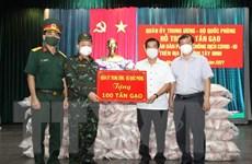 Quân ủy Trung ương, Bộ Quốc phòng hỗ trợ Tây Ninh 100 tấn gạo