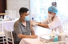 Hà Nội: Tiêm ít nhất 1 mũi vaccine cho người bốc dỡ hàng hóa