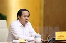 Kiện toàn Hội đồng thẩm định nhiệm vụ lập quy hoạch vùng