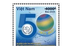 Phát hành bộ tem kỷ niệm 50 năm Cuộc thi viết thư quốc tế UPU