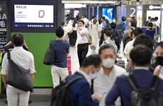 Nhật Bản: Động đất làm rung chuyển Tokyo, gây gián đoạn đường sắt