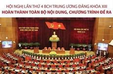 Hội nghị Trung ương lần thứ 4 khóa XIII hoàn thành nội dung đề ra