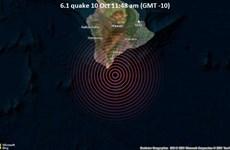 Động đất mạnh ở Hawaii, không có cảnh báo sóng thần