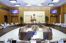Bế mạc Phiên họp thứ 4 của Ủy ban Thường vụ Quốc hội