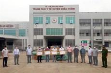 Các tổ chức, cá nhân ủng hộ Sóc Trăng chống dịch COVID-19