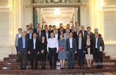 Lãnh đạo Ban Đối ngoại TW tiếp các trưởng cơ quan đại diện Việt Nam