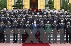 Chủ tịch nước gặp mặt đoàn cựu chiến binh đường Hồ Chí Minh trên biển