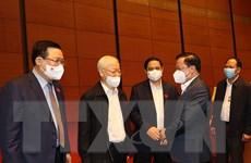 Tổng Bí thư dự phiên thảo luận của Quốc hội về phòng, chống tham nhũng