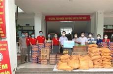 Hội Chữ thập Đỏ hỗ trợ lao động bị ảnh hưởng bởi dịch COVID-19