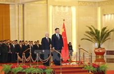 Tin nóng 12/1: Lãnh đạo Việt Nam-Trung Quốc thảo luận vấn đề Biển Đông