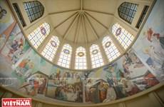 [Photo] Khám phá vẻ đẹp kiến trúc độc đáo của nhà thờ Phú Cường