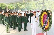 [Photo] Đoàn các bộ, ban ngành viếng nguyên Tổng Bí thư Đỗ Mười