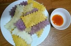 Ngọt bùi hương vị bánh khẩu xén Mường Lay