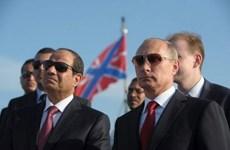 Nga ưu tiên hợp tác năng lượng, vũ trụ, du lịch với Ai Cập
