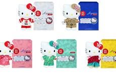 SingPost phát hành bộ sưu tập tem, đồ chơi Hello Kitty SG50
