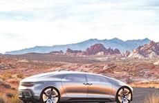 Xe tự lái thông minh dành cho tương lai của Mercedes-Benz