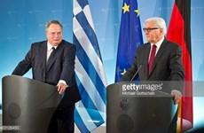Đức và Hy Lạp quyết tâm thúc đẩy quan hệ hợp tác song phương
