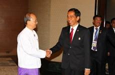 Indonesia và Myanmar tăng cường hợp tác về kinh tế, đầu tư
