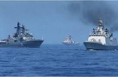 Hải quân Ấn Độ và Pháp tập trận chung ngoài khơi biển Goa