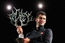 Hạ bệ Ferrer, Djokovic lần thứ 2 lên ngôi Paris Masters