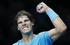 """Nadal kết thúc năm ở ngôi số 1 cùng khoản tiền """"khủng"""""""