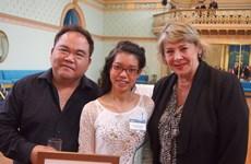 Sinh viên Việt Nam nhận giải thưởng kép tại Australia