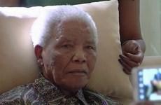Cựu Tổng thống Nelson Mandela không thể nói được