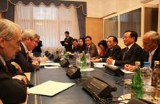 Đoàn cấp cao Hà Nội kết thúc thăm 4 nước châu Âu