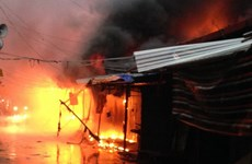 Hỗ trợ các tiểu thương thiệt hại vụ cháy chợ ở Bạc Liêu