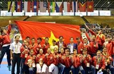 Bảng tổng sắp huy chương SEA Games 27 ngày 21/12