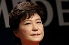 Uy tín Tổng thống Hàn Quốc Park Geun-Hye giảm mạnh