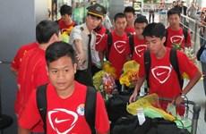 Đội tuyển U19 Việt Nam chạy đà cho giải U19 quốc tế