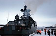 Hai nhóm tàu chiến của Nga đến Địa Trung Hải