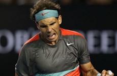 Hạ Federer, Nadal áp sát ngôi vương Australian Open