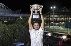Wawrinka thăng tiến mạnh mẽ trên bảng xếp hạng ATP