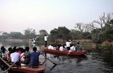 Khu du lịch sinh thái Đảo Cò đón gần 1 vạn lượt du khách