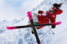 Nữ VĐV Canada gặp tai nạn kinh hoàng ở Olympic Sochi