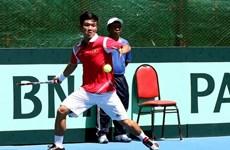 Davis Cup: Hoàng Thiên giành trận thắng đầu cho Việt Nam