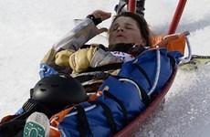 Sochi: Nữ vận động viên Mỹ nằm bất động sau tai nạn