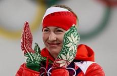"""VĐV Domracheva được trao danh hiệu """"Anh hùng Belarus"""""""