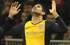 Video Costa tỏa sáng giúp Atletico Madrid đánh bại Milan