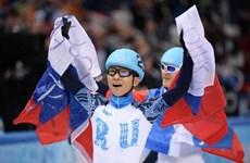 VĐV Victor Ahn vĩ đại nhất lịch sử trượt băng tốc độ