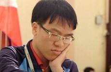 Quang Liêm chiến thắng ván đầu tiên giải cờ vua quốc tế