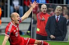 """Dư âm Champions League: Wenger """"nổi điên"""" vì Robben"""
